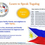 Tagalog Learning Class 2013