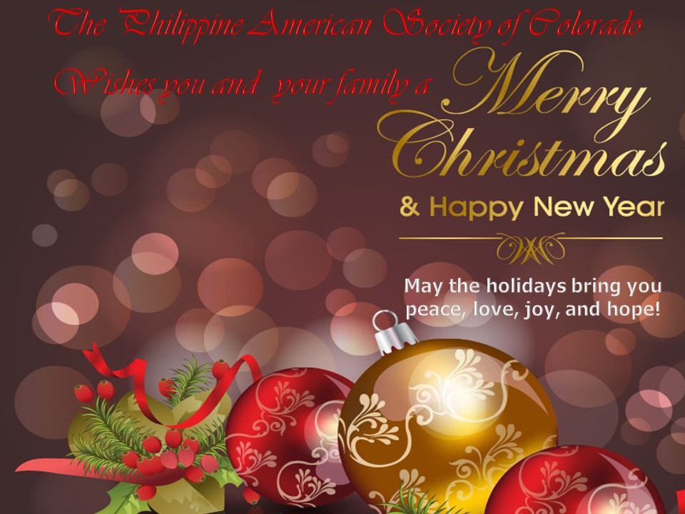 2015 Christmas & New Year Greeting